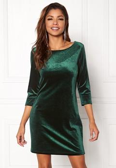 VILA Sienna 3/4 Sleev Dress Pine Grove Bubbleroom.dk