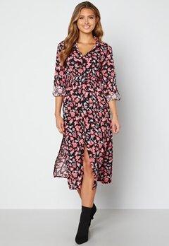 Sisters Point Eron Dress 001 Black/Pink bubbleroom.dk
