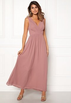 Sisters Point Gally Maxi Dress 587 Old Rose Bubbleroom.dk