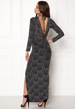 Sisters Point Gelly Dress 001 Black/Silver Bubbleroom.dk