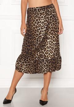 Sisters Point Givi Skirt 845 Leopard Bubbleroom.dk