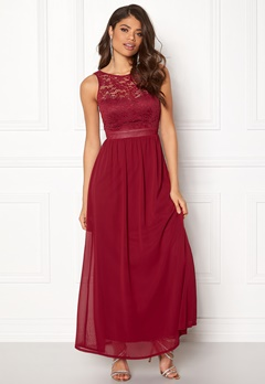 Sisters Point Guff-1 Dress Ruby Wine Bubbleroom.dk