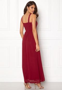 Sisters Point Guff-1 Dress Ruby Wine Bubbleroom.dk