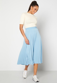 Sisters Point Malou Skirt 402 Light Blue Bubbleroom.dk