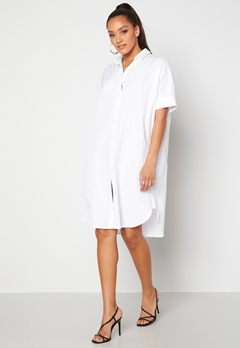 Sisters Point Meda Shirt 100 White Bubbleroom.dk