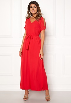 Sisters Point Narva Dress Red Bubbleroom.dk