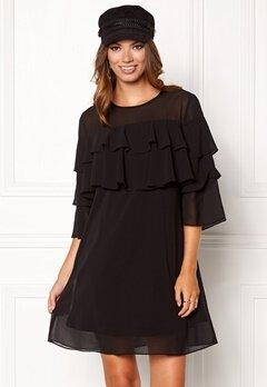 Sisters Point Nax Dress Black Bubbleroom.dk