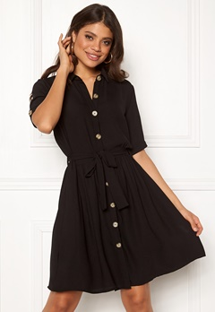 94d8120507d7 Sisters Point Nutti Dress 000 Black Bubbleroom.dk