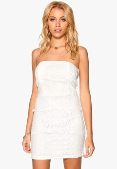 Sisters Point Nyls dress Cream Bubbleroom.dk