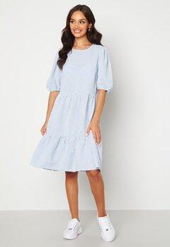 Sisters Point Vilka Dress 841 Blue/White Bubbleroom.dk
