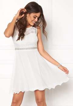 Sisters Point WD-30 Dress Cream Bubbleroom.dk