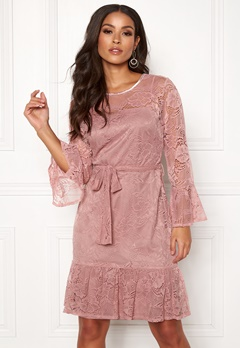Sisters Point WD-33 Dress 586 Dusty Rose Bubbleroom.dk