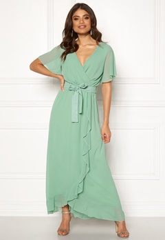 6354da97f6e8 Sisters Point WD-42 Dress 301 Spring Green Bubbleroom.dk