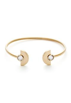 BY JOLIMA Skiathos Bracelet Crystal Gold Bubbleroom.dk