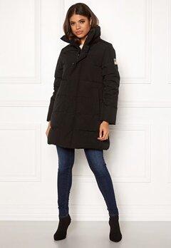 Svea Slim Fit Padded Jacket 900 Black Bubbleroom.dk