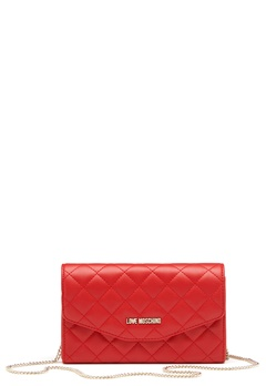 Love Moschino Small Bag 500 Red Bubbleroom.dk