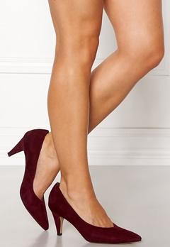 SOFIE SCHNOOR Stiletto Pumps Dark Red Bubbleroom.dk