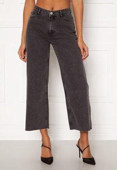 ONLY Sonny Life HW Cropped Jeans Grey Denim Bubbleroom.dk