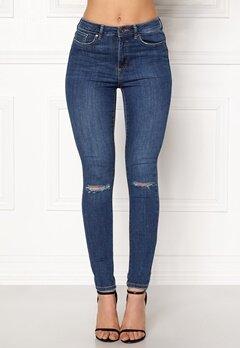VERO MODA Sophia Hr Skinny Destroy Jeans Medium Blue Denim Bubbleroom.dk
