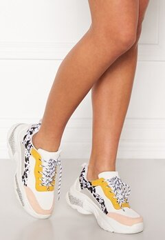 SoWhat 528 Sneakers White/Yellow Bubbleroom.dk