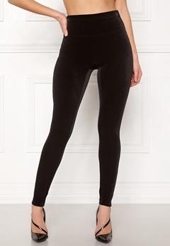 Spanx Velvet Leggings Very Black Bubbleroom.dk
