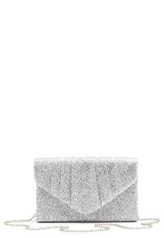 Koko Couture Sparkle Bag Silver Bubbleroom.dk