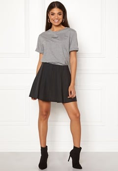 ONLY Steady Neo Faux Skirt Black Bubbleroom.dk