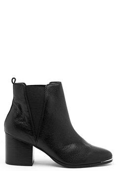 Steve Madden Flaknei Boot Black Leather Bubbleroom.dk