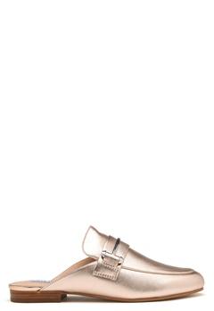 Steve Madden Kera Mule Leather Shoes Rose Gold Bubbleroom.dk