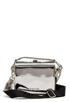 Steve Madden Story Handbag Silver Metallic Bubbleroom.dk