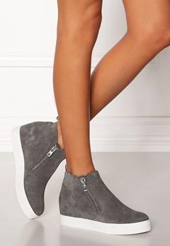 Steve Madden Wedgie Sneaker Shoes Grey Suede Bubbleroom.dk