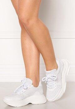 Steve Madden Zela-P Sneaker 107 White Leather Bubbleroom.dk
