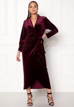 Stylein Taylor Dress Plum Bubbleroom.dk