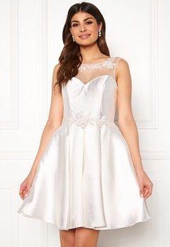 SUSANNA RIVIERI Embroidered Dream Dress Ivory Bubbleroom.dk