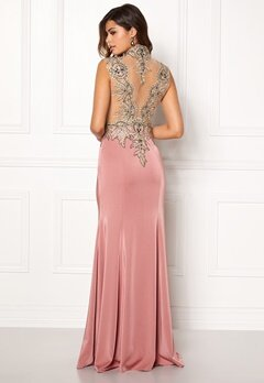 SUSANNA RIVIERI Embellished Maxi Dress Rose Bubbleroom.dk