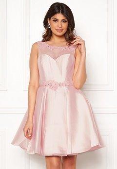 SUSANNA RIVIERI Embroidered Dream Dress Blush Bubbleroom.dk