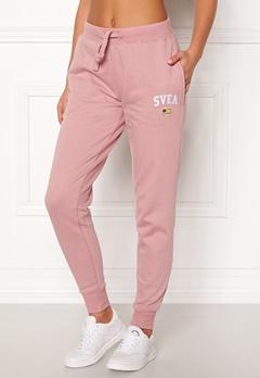 Svea Maj Sweat Pants 526 Dusty Pink Bubbleroom.dk