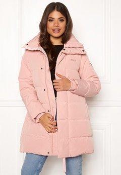 Svea Slim Fit Padded Jacket 505 Soft Pink Bubbleroom.dk