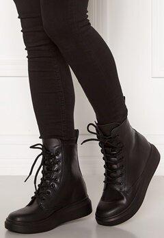 Svea Sneaker Leather Boots 900 Black Bubbleroom.dk