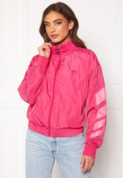 Svea W. Windbreaker Jacket 533 Bright Pink Bubbleroom.dk