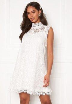 DRY LAKE Swing Dress White Lace Bubbleroom.dk