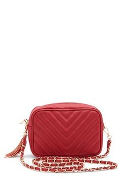 Gessy Tassel Chain Bag Red Bubbleroom.dk