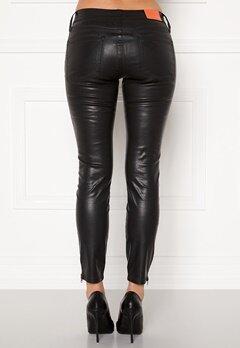 the Odenim O-Kite Jeans 05 Coated Black Bubbleroom.dk