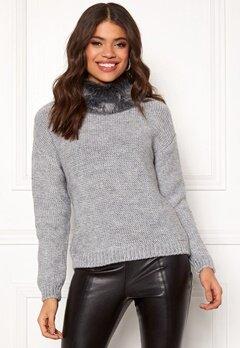 TIFFOSI Coolia Sweater 030 Grey Bubbleroom.dk