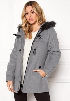 TIFFOSI Patten Long Jacket 003 Grey Bubbleroom.dk