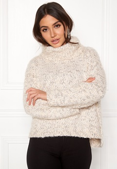 TIFFOSI Slubby Sweater 110 Beige Bubbleroom.dk
