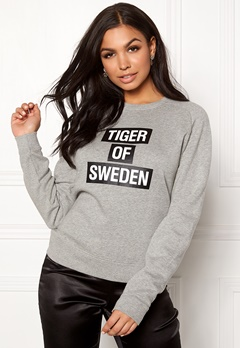 TIGER OF SWEDEN Eriika Sweat Dark White Bubbleroom.dk