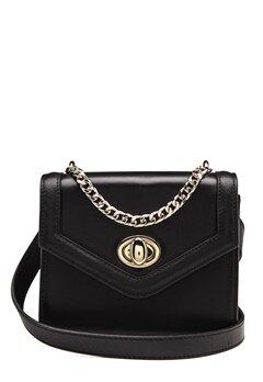 TIGER OF SWEDEN Murata Small Leather Bag 050 Black Bubbleroom.dk