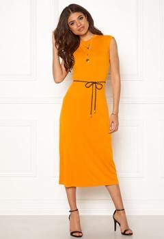 TIGER OF SWEDEN Pescara Dress 862 Orange Sorbet Bubbleroom.dk