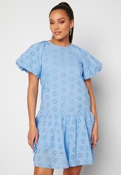 Pieces Tillie 2/4 Dress Vista Blue Bubbleroom.dk